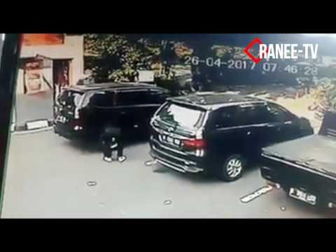 HATI HATI CCTV MODUS KEJAHATAN BAN MOBIL BERASAP