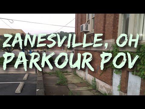 Parkour POV In Zanesville Ohio