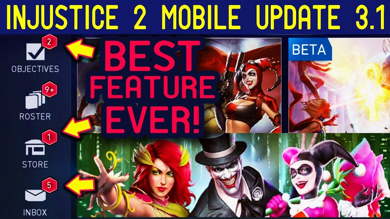 Injustice 2 Mobile Update 3 1  League of Anarchy Team is OP! New Great  Features