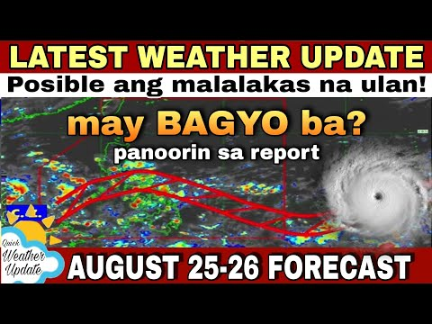 UULAN BA? | PAGASA WEATHER UPDATE TODAY LIVE | WEATHER UPDATE TODAY | WEATHER FORECAST FOR TODAY
