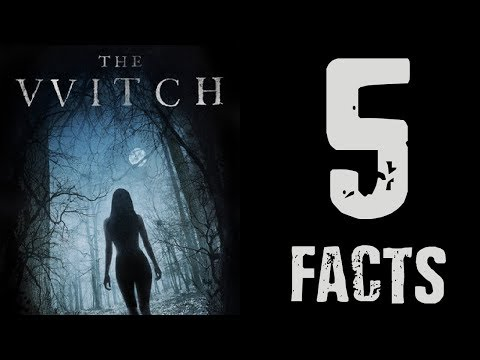 The Witch (2015) - Five Facts