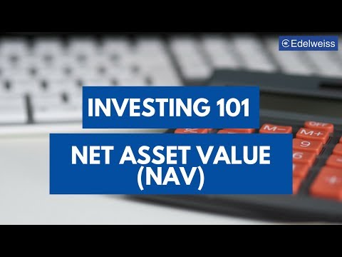 Net Asset Value | Investing 101 | Edelweiss