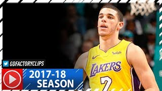 Lonzo Ball Full Highlights vs Hornets (2017.12.09) - 5 Pts, 9 Ast in 3 Qtrs