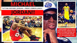 Michael Jordan(Bulls) Would Punish LeBron James(Lakers)! First Take - Stephen/Max [Commentary]