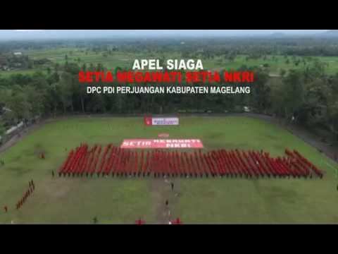 Bikin Merinding Koreografi Kader PDI Perjuangan Kab Magelang