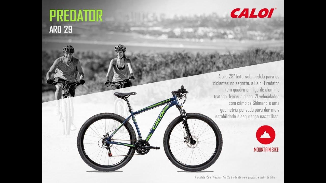 8a60b901a Caloi Predator Aro 29 - Detalhes - YouTube