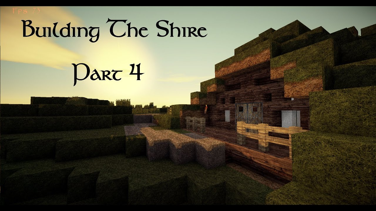 Minecraft: Building The Shire! #4 The Green Dragon Inn ...