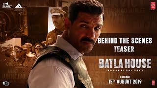Recreating Batla House - Teaser | John Abraham, Mrunal Thakur, Nikkhil Advani |Releasing 15th August
