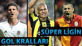 Son 29 Sezonun Süper Lig Gol Kralları