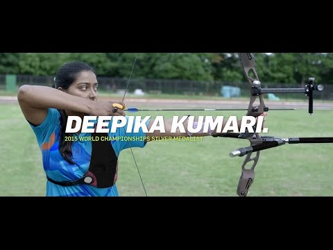 Where there's a will, there's an aim #BillionCheers - Deepika Kumari