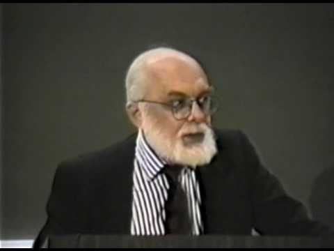 James Randi Lecture @ Caltech - Magic or Conjurer?