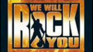We will rock you - I want to break free (Germany)