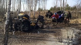 Поездка на родник MOTOEXTREMECLUB ATV brp, yamaha, polaris, Suzuki, cfmoto, stels