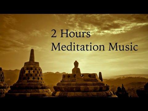 2 Hours Meditation Music  Tibetan Meditation Music  60 Bpm Meditation