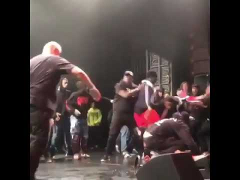 XXX Tentacion Brutally Jumped On Stage