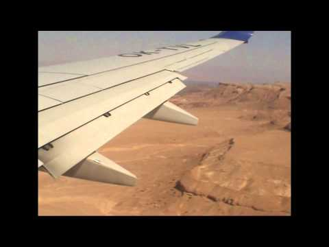 Boeing 737-800 Landing in Taba (Travel Service)