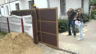 Ворота откатные автоматические (Isatech LTD)(, 2016-01-23T21:16:02.000Z)
