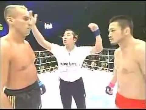 Stefan 'Blitz' Leko (Kickboxing/Muay Thai) Vs Ikuhisa Minowa (Wrestling/MMA)