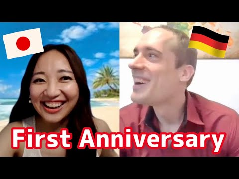 International couple【国際カップル】First Anniversary 1年記念対談 from YouTube · Duration:  5 minutes 31 seconds