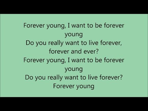 Alphaville - Forever Young - Lyrics