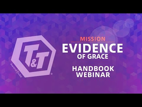T&T Update Webinar (Mission: Evidence of Grace, Kid's Handbook)