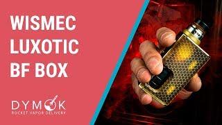 Огляд WISMEC LUXOTIC BF BOX, намотування | Компактний і смачний сквонк