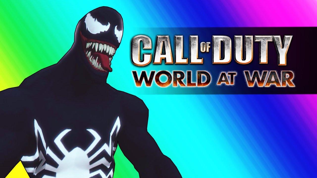 Venom Zombies!  (COD WaW Zombies Mods Spiderman Edition)