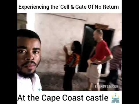 Took HEATHER From USA On A Day Tour - CAPE COAST CASTLE-  Vacation Vlog 07