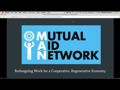 Mutual Aid Networks web learning series 2016 #2 - Communicating Your Project