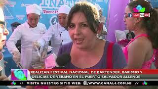 Realizan festival nacional de bartender, barismo y delicias de verano en el Puerto Salvador Allende