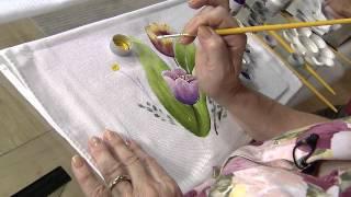 Aprenda a fazer a pintura em tecido com Beth Matteelli