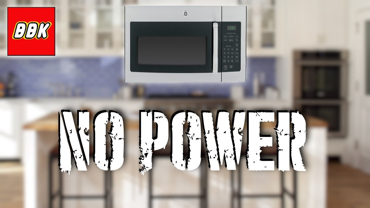how to fix a ge over the range microwave stopped working will not power on no power jvm3160rf3ss