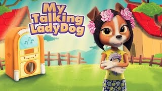My Talking Lady Dog - Android Gameplay HD