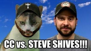 Creationist Cat vs. Steve Shives!