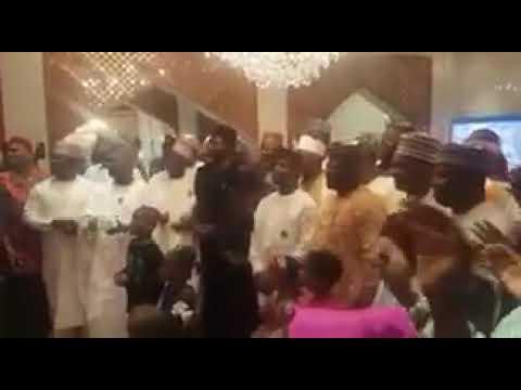 President Buhari celebrating his 75th Birthday