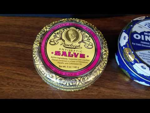 Antiseptic Salve and Medicated Ointment