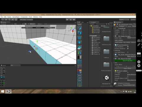 Unity ProBuilder level disign #2 ( finish Building )