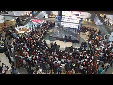 Bigg Boss 11 Public Voting at InOrbit Mall - Live Feed