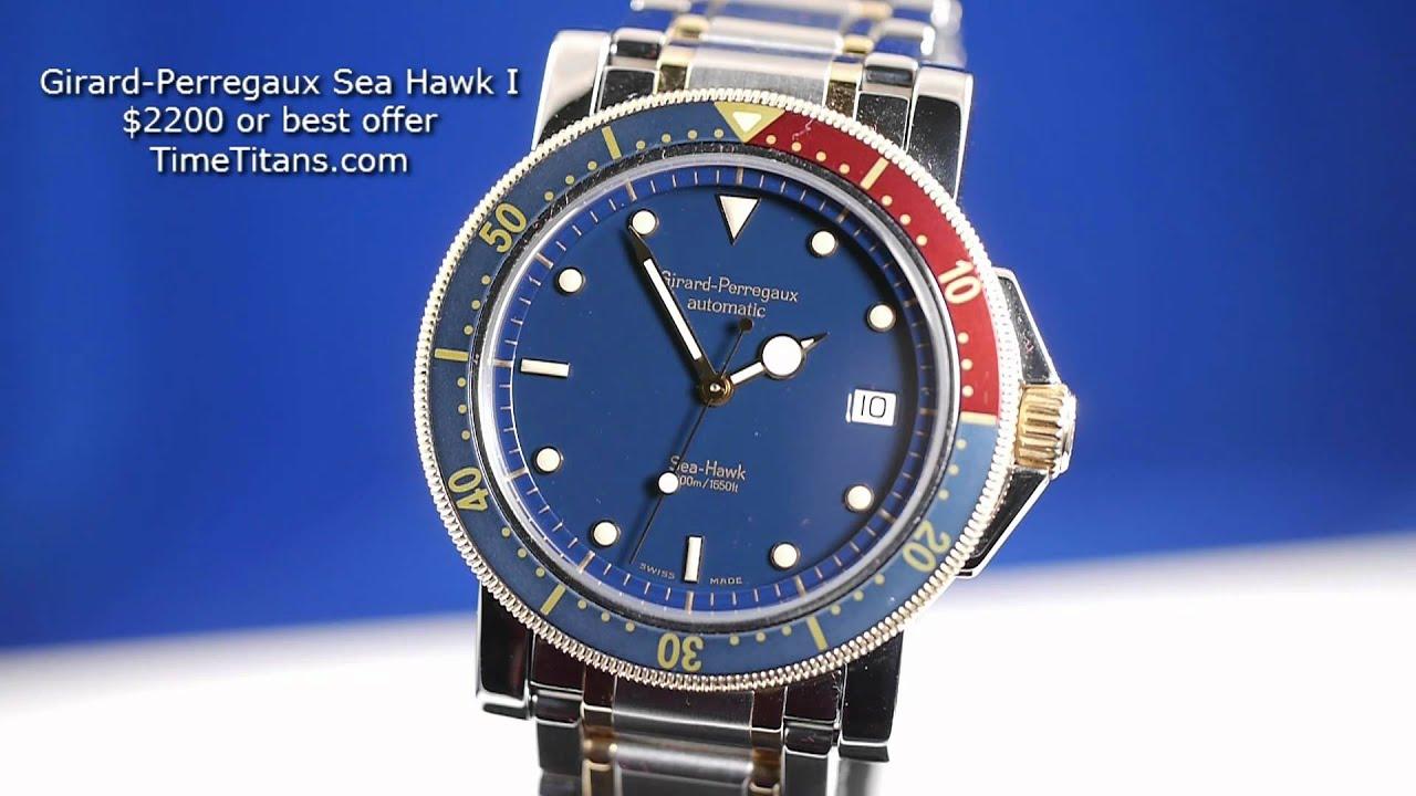 Girard Perregaux Sea Hawk I Youtube