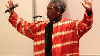 """André De Shields sings """"None of Us are Free"""" at SUNY's Celebrate Rwanda! Event"""