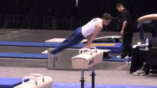 David Frankl on Pommel Horse at 2012 Nationals