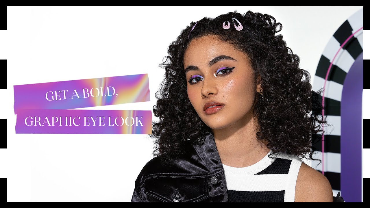 How To Create a Bold, Graphic Eye Look   Sephora SEA