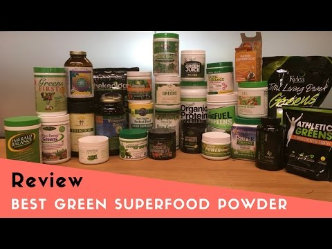 Best Green Superfood Powder Drink