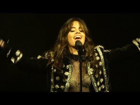 Camila Cabello - Never be the same - Live Paris 2018
