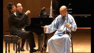 Guo Gan  and  Lang Lang   in  Carnegie  Hall   NY  .