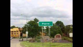 Missiouri River flooding in Pierre South Dakota