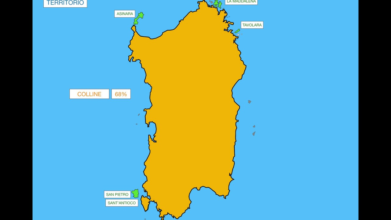 Cartina Fisica Sardegna Da Stampare.Geografia Maestralia