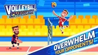 Volleyball Challenge - volleyball game Android Gameplay