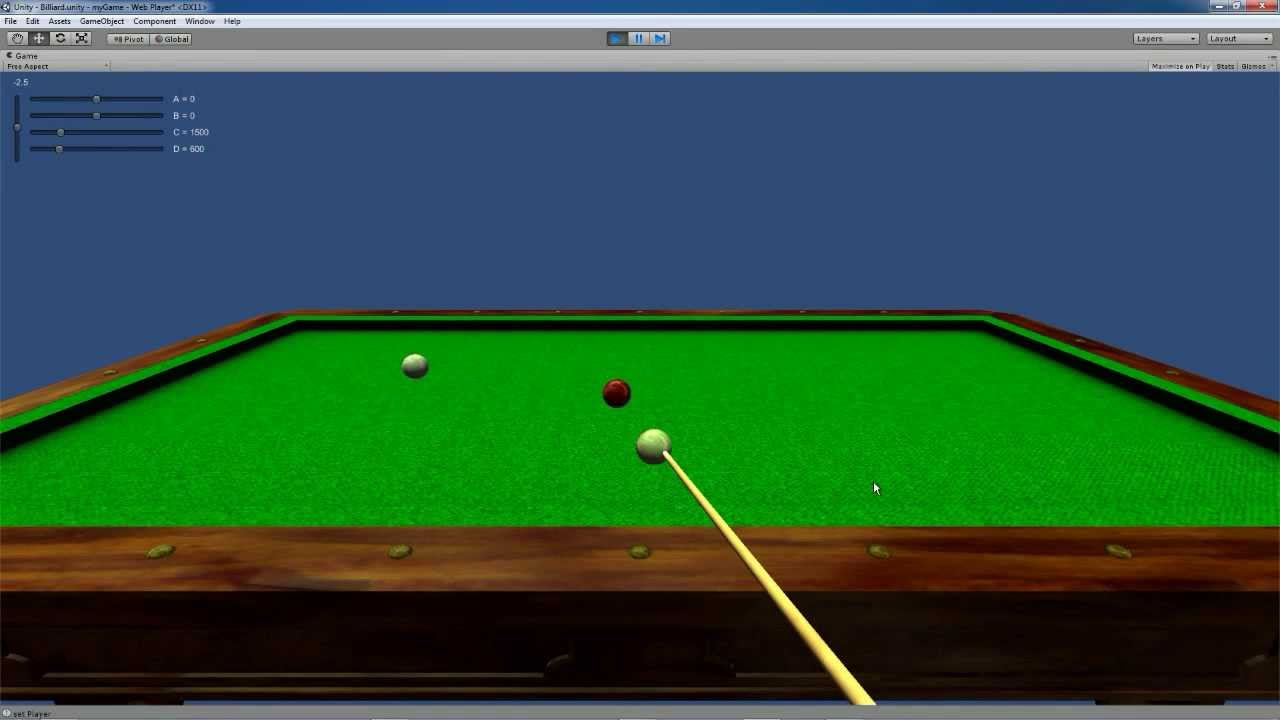 Unreal Carom Billiard Training Game - How to Play