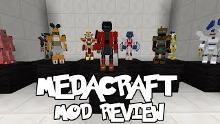 THE GREATEST MEDABOT ARRIVES! || Medacraft 0.2.0 Mod Review (Minecraft Medabots Mod)